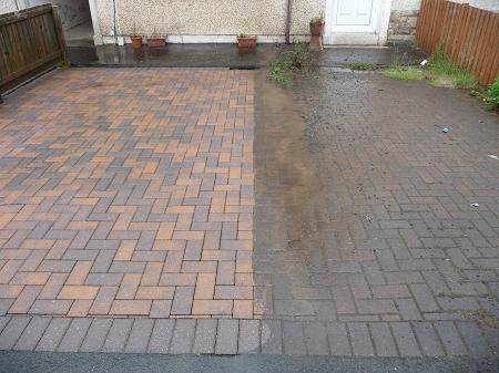 Driveway cleaning driveway cleaning services london for Pressure washer driveway cleaner