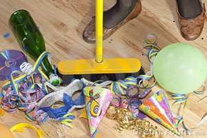 After Party Cleaning Services London